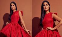 Katrina Kaif amazes fans in a gorgeous red gown