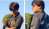 Shahrukh Khan shines in his stylish jacket gifted by Karan Johar