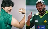 Afridi heaps praise on Pakistan's 'Lady Boom Boom'
