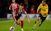 Sheffield United's home win ends Arsenal's unbeaten run