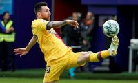 Barcelona look to extend five-game winning streak against underdogs Slavia Prague