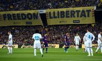 Re-scheduled Clasico could face La Liga opposition