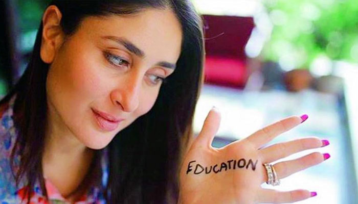 Kareena Kapoor spurs discussion towards education with ...