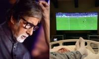 Amitabh Bachchan, after cancelling KIFF appearance, shares a bed-ridden photo of himself