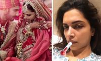 Deepika Padukone falls sick before ringing in first anniversary with Ranveer Singh