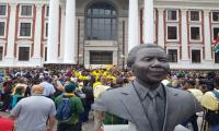 Springboks celebrate World Cup victory at legendary Mandela site