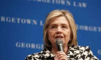 'Shameful' for UK not to publish Russia meddling probe: Clinton