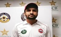 Fast bowler Sadaf Hussain waits for PCB to recognise his talent