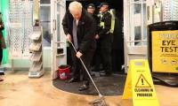 Johnson sends 100 troops to help UK flood victims