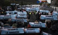 Catalan separatists again block Spain-France motorway