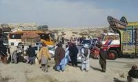 Azadi March 'Plan B':  Quetta-Chaman highway blocked
