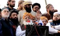 Fazl announces Azadi March Plan B: Spread protests across Pakistan