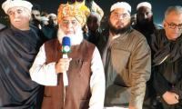 Fazl announces Azadi March Plan B: Spread protests across Pakistan