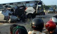 Indonesia bus collision kills seven