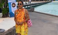 Inside Meera Jee's vacation in Maldives