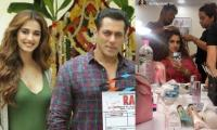 Disha Patani shares glimpses from sets of Salman Khan-starrer 'Radhe'