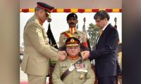 Pak Army Chief visits Armoured Corps Centre in Nowshera