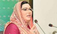 Nawaz Sharif given all facilities by govt: Firdous