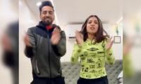 WATCH: Ayushmann Khurrana, Bhumi Pednekar get into the party mode with 'Dheeme Dheeme'