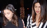 WATCH: Alia Bhatt spotted paying Priyanka Chopra a visit at her Mumbai residence