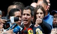 Thousands of Guaido supporters march against Maduro in Venezuela