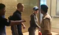 Katy Perry refuses to show passport at Mumbai airport despite official's constant demands: Watch