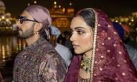 Deepika Padukone, Ranveer Singh's visit to the Golden Temple: In pictures