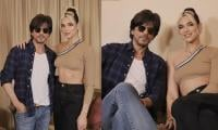 Shah Rukh Khan gives warm welcome to Dua Lipa as she touches down in Mumbai