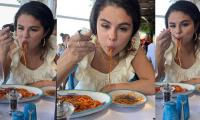 Selena Gomez teaches us how to devour pasta in the most adorable way