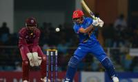 Gurbaz´s half century helps Afghanistan post 156-8 in third T20