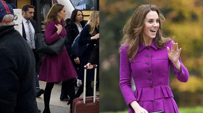 Kate Middleton Shocks Passengers As She Takes The Local