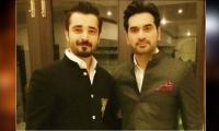 Humayun Saeed sends best wishes to Hamza Ali Abbasi for his new journey
