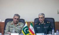 COAS discusses regional security with Iranian armed forces chief in Tehran