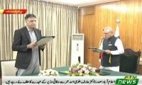 Asad Umar returns to cabinet as minister for planning development and reforms
