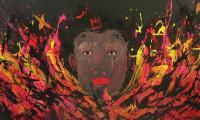Sanki King brings a burst of energy in graffiti