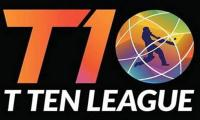 T10 League 2019 schedule