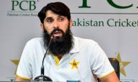 Misbah-ul-Haq shows the positive side of Pakistan's inexperience