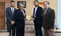 Pakistan Football Federation hold 'fruitful discussions' with Asian Confederation