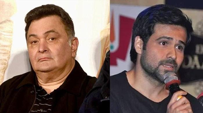 Emraan Hashmi dubs Rishi Kapoor a ?sweetheart? on set