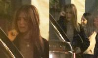 Jennifer Aniston weeps as she exits restaurant in LA: See photos