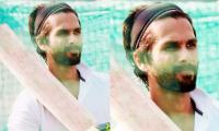 Shahid Kapoor shows off cricketing abilities as he practices for 'Jersey': Watch