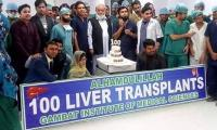 New lease of life to 100 patients with successful liver transplant in Gambat