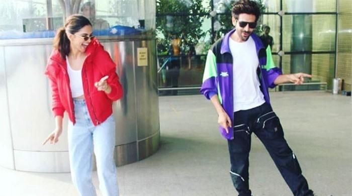 Deepika Padukone, Kartik Aaryan trolled over Dheeme Dheeme dance at airport