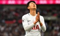 Spurs star Son 'in pain' after United thrashing
