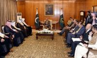 Saudi Shura council members meet PM and president, assure support on Kashmir