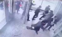 CCTV footage: hospital staff run for their lives as lawyers vandalise property