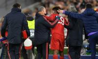 Bayern Munich claim Coman's injury not as bad as they feared