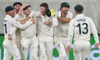 Smith's freak catch helps Australia come back on top