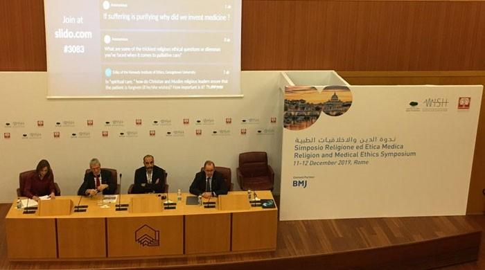 Experts from major religions discuss palliative healthcare in Rome