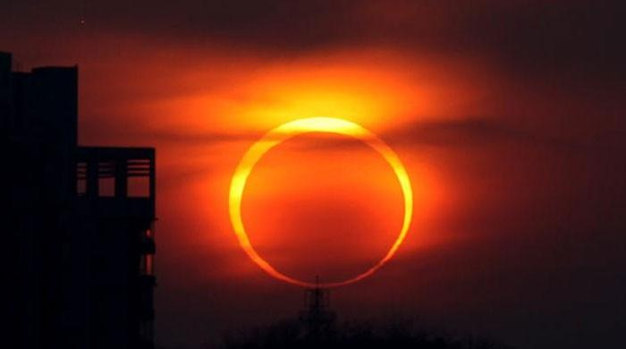 Pakistan witnesses annular solar eclipse for first time in 20 years